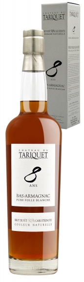 Tariquet Bas-Armagnac Pure Folle Blanche 8 Years in Geschenkverpackung