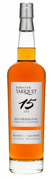 Tariquet Bas-Armagnac Pure Folle Blanche 15 Ans in Geschenkverpackung