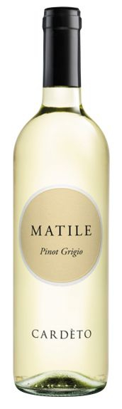 Cardeto Matile Pinot Grigio IGT 2014