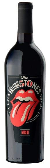 Wines That Rock Rolling Stones Forty Licks Merlot 2012