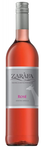 Mountain River Wines Zarafa Pinotage Rosé 2016