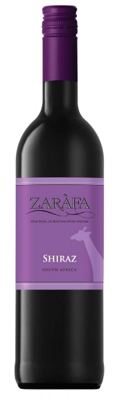 Mountain River Wines Zarafa Shiraz 2016