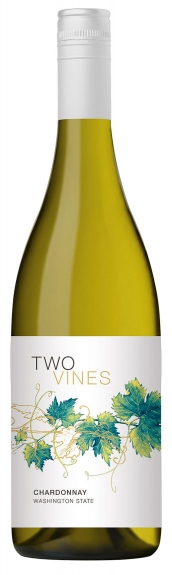 Columbia Crest Two Vines unoaked Chardonnay 2016